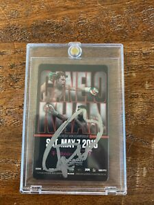 Canelo Alvarez Signed MGM Room Key Card Psa Dna Coa Autographed Boxing