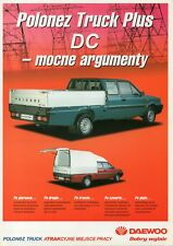 Polonez Truck Plus DC pick-up_made in Daewoo-FSO Poland_1999 Prospekt Brochure