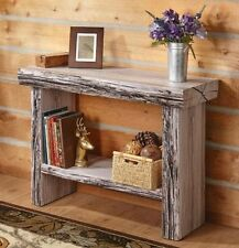 TREE TRUNK CONSOLE / SOFA TABLE NATURAL RUSTIC WOOD LOOK HALL ENTRY COUNTRY