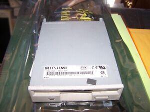 "Mitsumi 3.5"" Model D359M3 PC Floppy Drive White Faceplate"