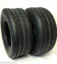TWO 20.5x8.0-10 Pontoon Boat Camper Trailer Tire 10ply TWO TIRES