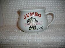 VINTAGE JUMBO ESPRESSO MUG~HERMITAGE POTTERY 1994~THUNDER JUG/CHAMBER POT SHAPE