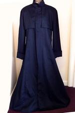 Black Matrix Style  cotton drill coat Priest Cosplay