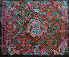Antique miao hmong machinemade tribal embroidery colorful Mystery Design