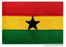 Ghana Flag embroidered iron-on African Patch Souvenir Emblem Banner Africa