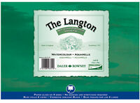 "Daler Rowney Langton Watercolour Block 140lb/300gsm Cold Pressed NOT 20"" x 16"""