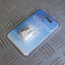 TWO 431A 4 PIN TELEPHONE PLUGS & TOOL IDEAL REPLACEMENT FOR DAMAGED PLUG