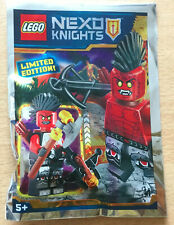 LEGO SET NINJAGO POLYBAG FIGURINE MINIFIG  NEXO KNIGHTS LE GUERRIER DE LAVE