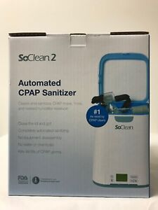 SoClean 2 Automated CPAP Equipment Cleaner and Sanitizer Machine FREE Adapters