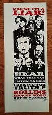 Henry Rollins Poster Black Flag Cleveland spoken word -cause I'm a Liar