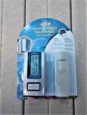 La Crosse Wireless Digital Thermometer Model Ws-9117U