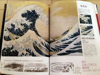 Katsushika Hokusai's Lifetime and His work collection mook / ukiyoe / shinbanga