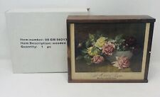 Victorian Trading Co. Wooden Puzzle A Bowl of Roses 400 pieces 13 x 17