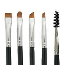 Benlily Eyebrow Brushes Set Eyeliner Groom Kit, Angled Flat Shader Spoolie Brush