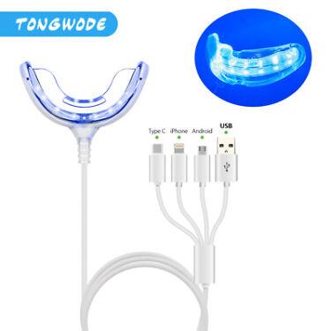 Tooth Whitener Pen Light Professional Teeth Whitening Bleaching Dental Gel Kit