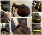 """USED Marcel Toulouse Annice Close Contact Saddle - 17"""" Genesis System"""
