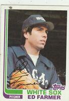 FREE SHIPPING-MINT TO NRMINT-1982 Topps #328 Ed Farmer White Sox +BONUS CARDS