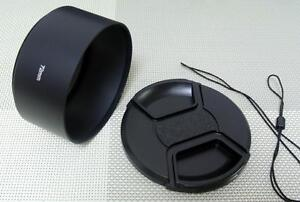 72 mm Metal Camera Lens Hood + 77 mm Cap for Tele Lens 72TC77