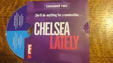 CHELSEA LATELY & THE SOUP EMMY DVD handler 2EPISODE Jay-J Joe Francis girl wild