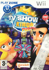 TV Show King Party Wii, 2008 PAL New Factory Sealed Nintendo Tear Strip