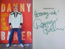 Signed Book Going on the Turn by Danny Baker Hardback 2017