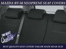 MAZDA BT-50 MK1(UP MODEL) DUAL CAB REAR NEOPRENE SEAT COVER ( WETSUIT MATERIAL )