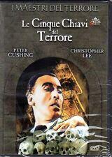 dvd I MAESTRI DEL TERRORE Le cinque chiavi del terrore Peter CUSHING C. LEE