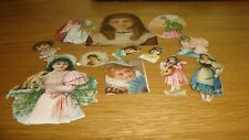 Mix Vintage Scraps / cuttings Women and Girls