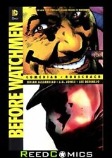 BEFORE WATCHMEN COMEDIAN RORSCHACH GRAPHIC NOVEL Paperback Collect 6 Part Series