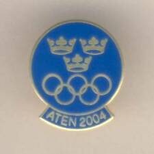 2004 ATHENS Olympic Games SWEDISH NOC PIN Badge SWEDEN Olympics