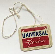 UNIVERSAL geneve vintage étiquette tag tri-compax tricompax bi compax chronographe