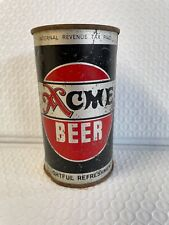 New listing Vtg Acme Metal Beer Can * Read Listing*