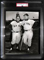 1961 Mickey Mantle & Yogi Berra Original Photo. PSA Type 1