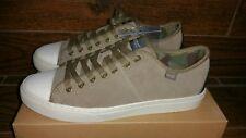 Wesc Men's Clive Fashion Sneakers Suede Shoes - Black & Walnut