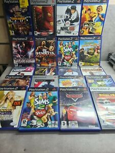 LOTTO 20 GIOCHI SONY PLAYSTATION 2 PS2 TESTATI E FUNZIONANTI
