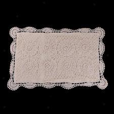Vintage Cotton Handmade Crochet Lace Pillow Case Decor Cushion Cover 33x55cm