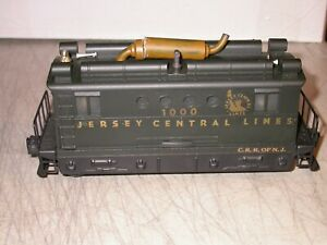LIONEL POSTWAR 0 027 520 BOX CAB CUSTOM DECORATED Jersey Central 1000