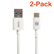 2-Pack USB 3.1 Type C to USB Type A 3.0 Samsung Galaxy S8 Note 8 Google Pixel 2
