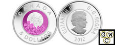 2012 'Full Pink Moon' $5 Sterling Silver and Niobium Coin (13006)