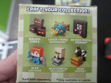 Minecraft Single Figurines, Blind Boxes Series 6, Set of 6, SEALED