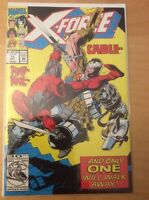 X FORCE 15, NM 9.4, 1ST PRINT, DEADPOOL & CABLE, LIEFELD COVER