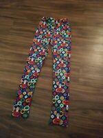 LULAROE LEGGINGS GIRLS KIDS SIZE L/XL MULTICOLORED NUTCRACKER PRINT