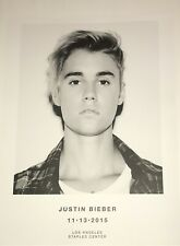 Justin Bieber 11:13:2015 Los Angeles Staples Center 18x24 Concert Poster !!!