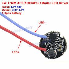3w Dc37v 6v 12v 1 Model 17mm Round Led Driver For Cree Xre Q5 Xpe Xpg Led Light