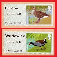 2011 Birds 3 ( III ) Post and Go Europe 60g & Worldwide 60g Sinlges