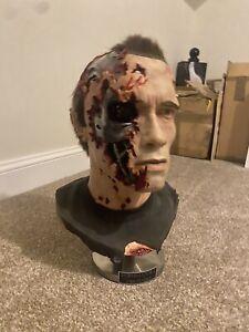 Terminator 2 Stage 5 Lifesize Bust Father Phantom Studios Planet Hollywood Prop