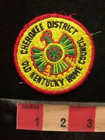 Old Kentucky Home Cherokee District Boy Scout Patch - Indian Theme 69NN