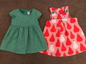 Girls Summer Dress Bundle 18-24 Months. Baby Boden Pinafore Dress, GAP