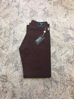 Versace Jeans Couture Men's jeans Brown zip fly Classic