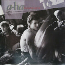 A- HA Hunting High and Low Vinyl LP A 1985 Classic